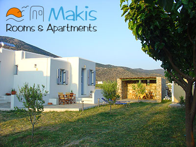 Makis chambres et appartements, Kamares, Sifnos