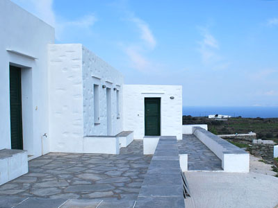House with garage and plot, Exabela, Sifnos