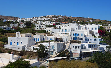 Les villages de Sifnos
